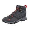 The North Face Hedgehog Hike Mid GTX Shoes Men dark shadow grey/zion orange